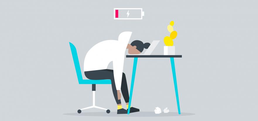 burnout, umora, pregaryane